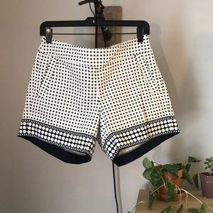 J Crew Polka Dot Shorts